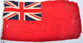 WWI FIRST WORLD WAR INTEREST FLAG SS MOORLANDS CARGO SHIP