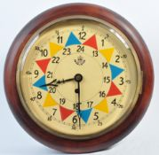 WWII SECOND WORLD WAR RELATED RAF SECTOR WALL CLOCK