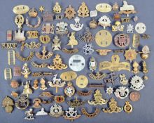 COLLECTION OF WWI FIRST WORLD WAR CAP BADGES