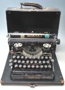 VINTAGE EARLY 20TH CENTURY BAR-LET PORTABLE TYPEWR