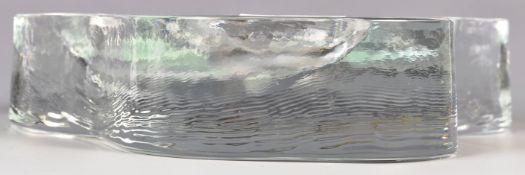 MID CENTURY MODERN STUDIO ART GLASS CENTERPIECE