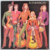 FOTHERINGAY - 1970 ISLAND RECORD SECOND PRESS VINYL RECORD