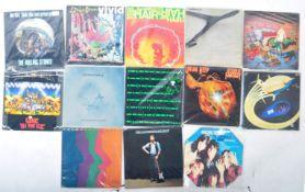 ROCK / BLUES ROCK / CLASSIC ROCK MIXED GROUP OF VINYL RECORDS
