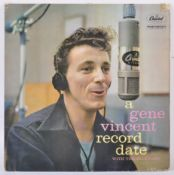 A GENE VINCENT RECORD DATE WITH THE BLUE CAPS - 1958 CAPITOL RELEASE