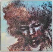 JIMI HENDRIX EXPERIENCE - THE CRY OF LOVE - 1971 TRACK LABEL