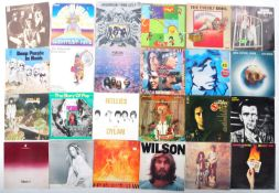 ROCK / COUNTRY / FOLK - A GROUP OF 60+ VINYL RECORD ALBUMS