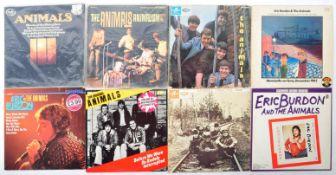 THE ANIMALS / ERIC BURDON & THE ANIMALS - GROUP OF EGIGHT VINYL RECORD ALBUMS