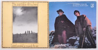 THE INCREDIBLE STRING BAND - TWO VINYL RECORD ALBUMS