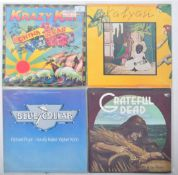 ROCK / JAZZ / FUNK PROMOTIONAL GROUP OF FOUR VINYL RECORDS
