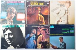 GEORGE FAME - GROUP OF SIX VINYL RECORDS INCLUDING FAME AT LAST