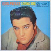 "ELVIS PRESLEY - LOVING YOU - 1957 10"" RCA LABEL RELEASE"