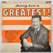 JERRY LEE LEWIS - LEE'S GREATEST - 1962 LONDON PLUM LABEL RELEASE