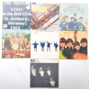 THE BEATLES - GROUP OF SEVEN VINYL RECORD ALBUMS