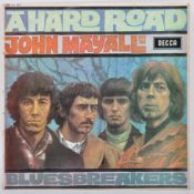 JOHN MAYALL & THE BLUESBREAKERS - A HARD ROAD - 1967 DECCA LABEL