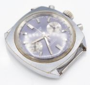 Mid Century Regency 17 Jewels Incabloc Chronograph Watch