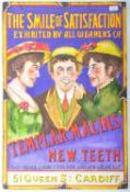 TEMPLAR MALINS NEW TEETH - IMPRESSION OF AN ENAMEL SIGN