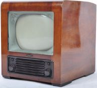 BUSH TV - TYOE TV24 - 1940'S WALNUT CASED TELEVISION RECEIVER