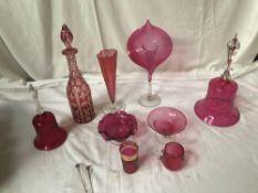 BOX CRANBERRY GLASS (AF)