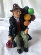 ROYAL DOULTON FIGURE-THE BALLOON MAN HN 1954