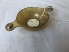 SILVER BOTTOMED WHISKY QUAICH