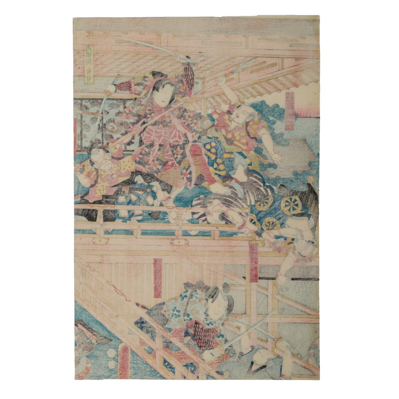 Lot 1155 - Zehn Farbholzschnitte. JAPAN, 18./19. Jh..
