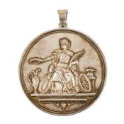 Medaille - Silbermedaille 1880 Graz/Österreich (v. Jauner),<
