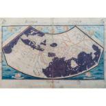 Faksimilierte Weltkarte, Florenz 15.Jh. -