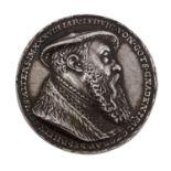 Bayern - Abguß einer Silbermedaille von 1535,<