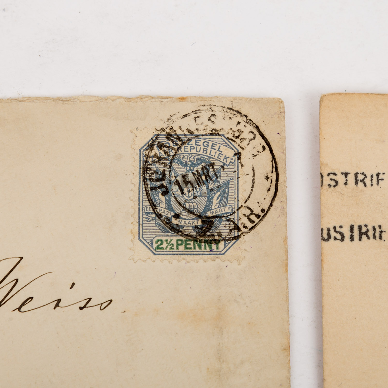 Lot 1406 - Südafrika / Südwestafrika - ab ca. 1890,ca. 70 Umschläge und Karten in verschiedener Erhaltung.South