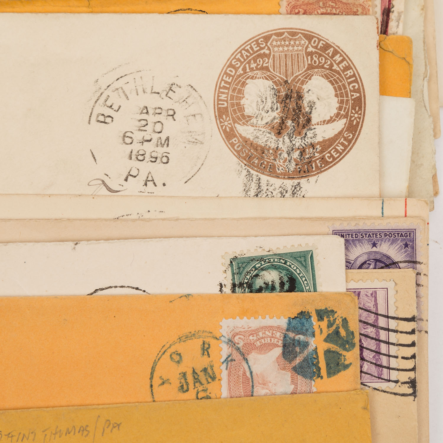 Lot 1407 - USA - ex 1870/2000, 85 covers about,teils sehr dekorativ.USA - ex 1870/2000, 85 covers about, partly