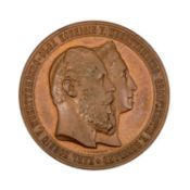 Württemberg - Bronzemedaille 1871,
