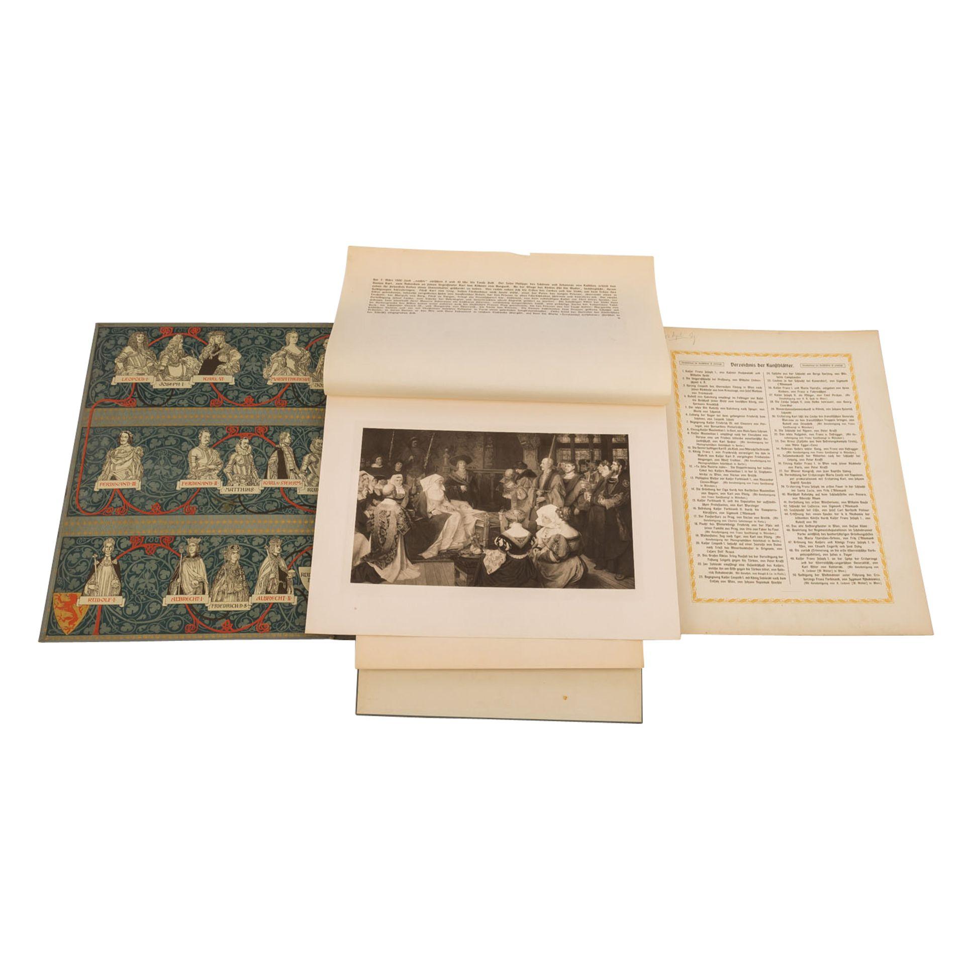 An Ehren und an Siegen reich, 2 Bände, - Bild 5 aus 6