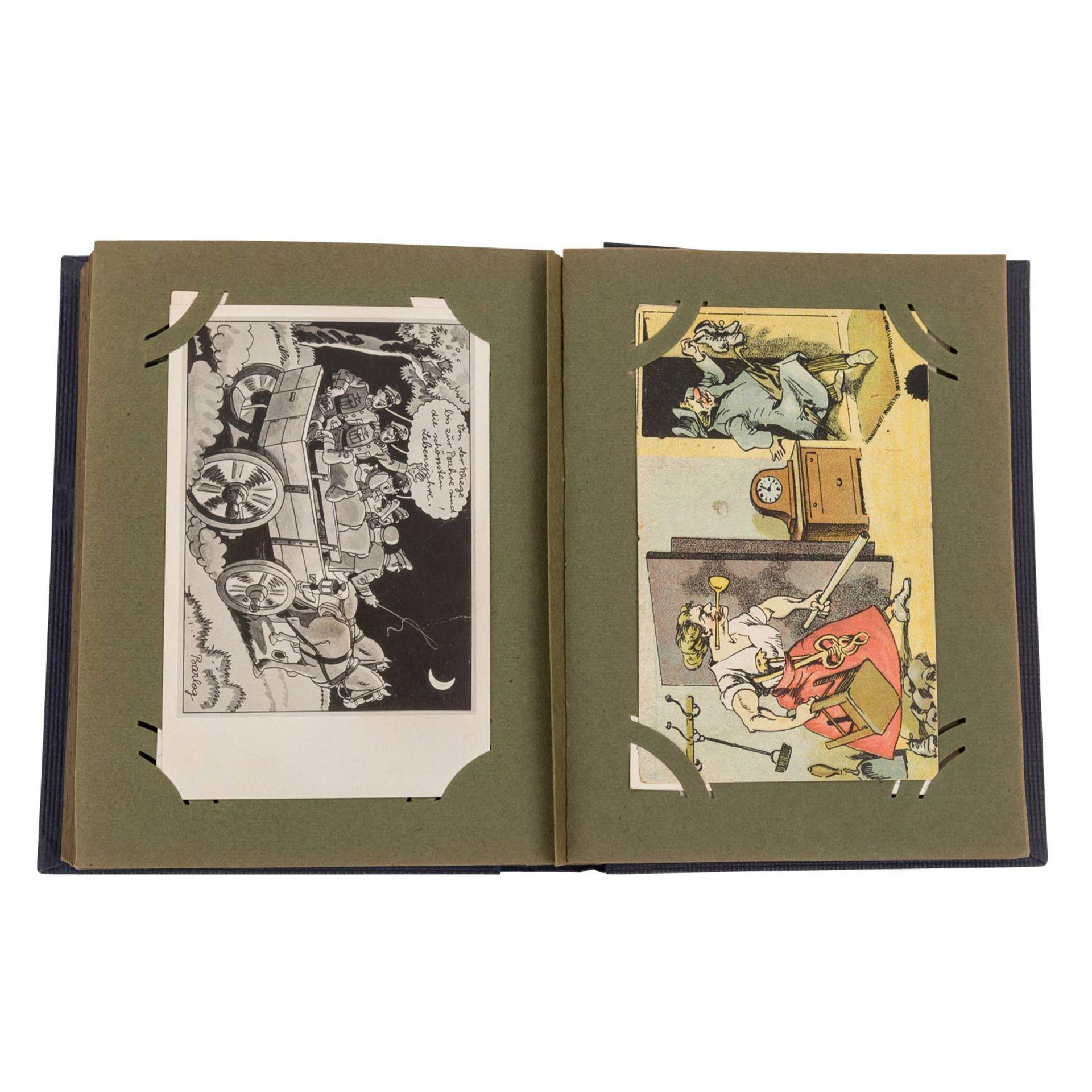 Hist. Postkartenalbum, Deutschland 19./20.Jh. - - Bild 4 aus 4