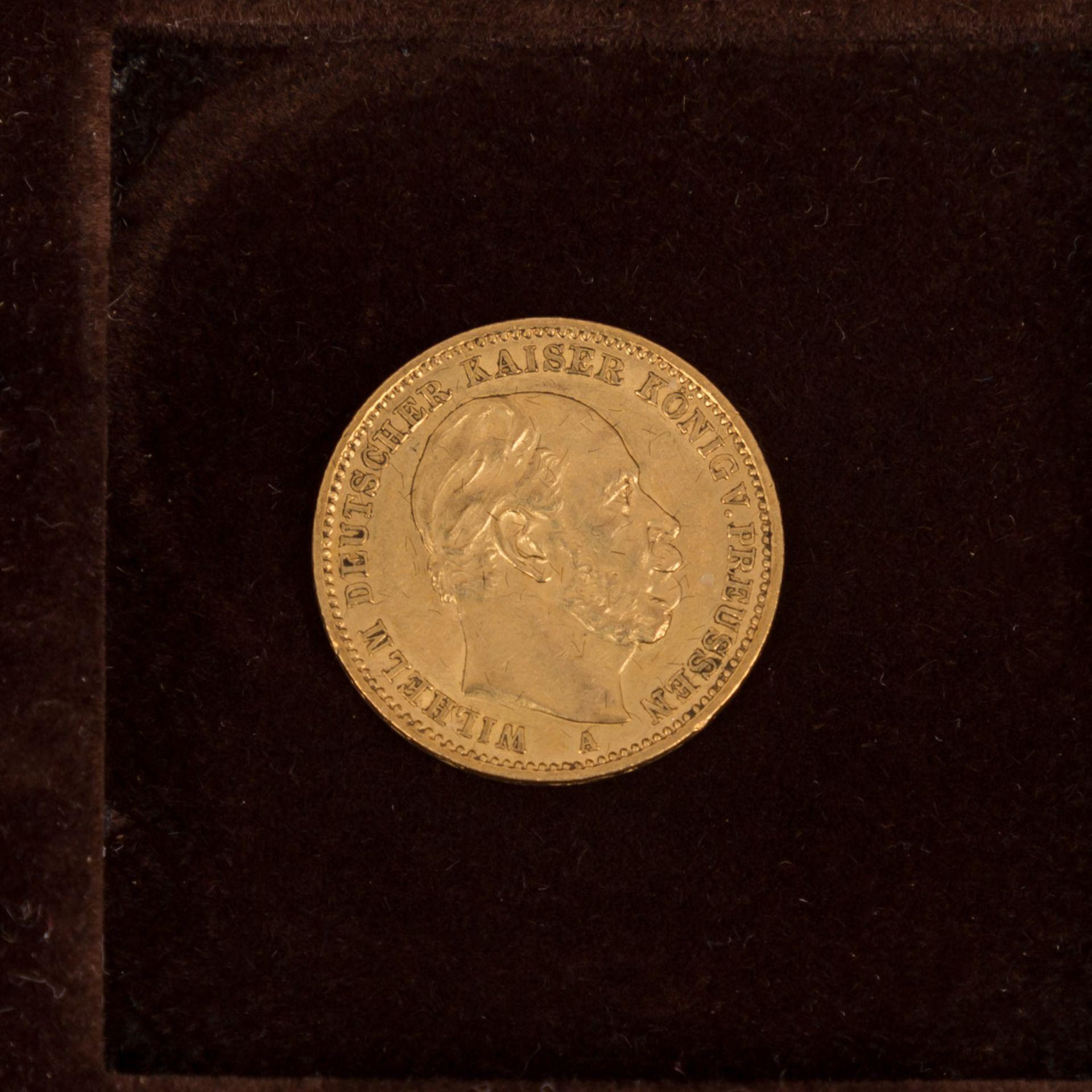 GOLDSCHATZ ca. 83 g fein, Holzkiste bestehend aus - Bild 9 aus 9