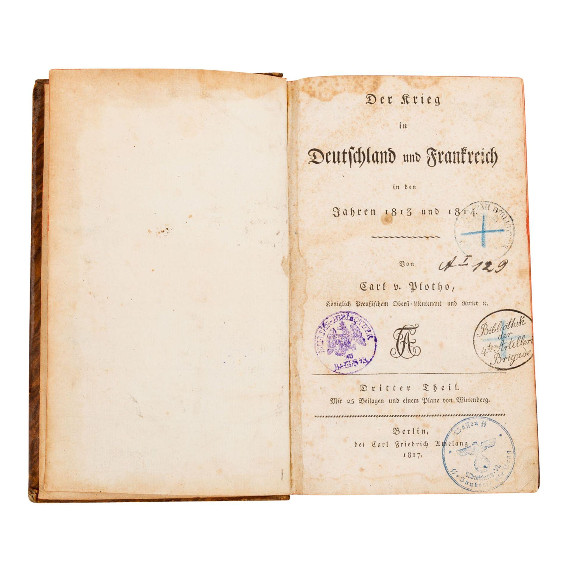 Konvolut - a) Der Krieg in Deutschland und Frankreich in den - Bild 2 aus 2