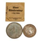 2 hist. Medaillen, Deutschland 19./20.Jh. -