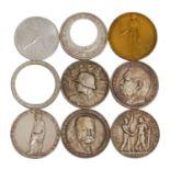 9 Medaillen, Deutschland 1933-1945 -
