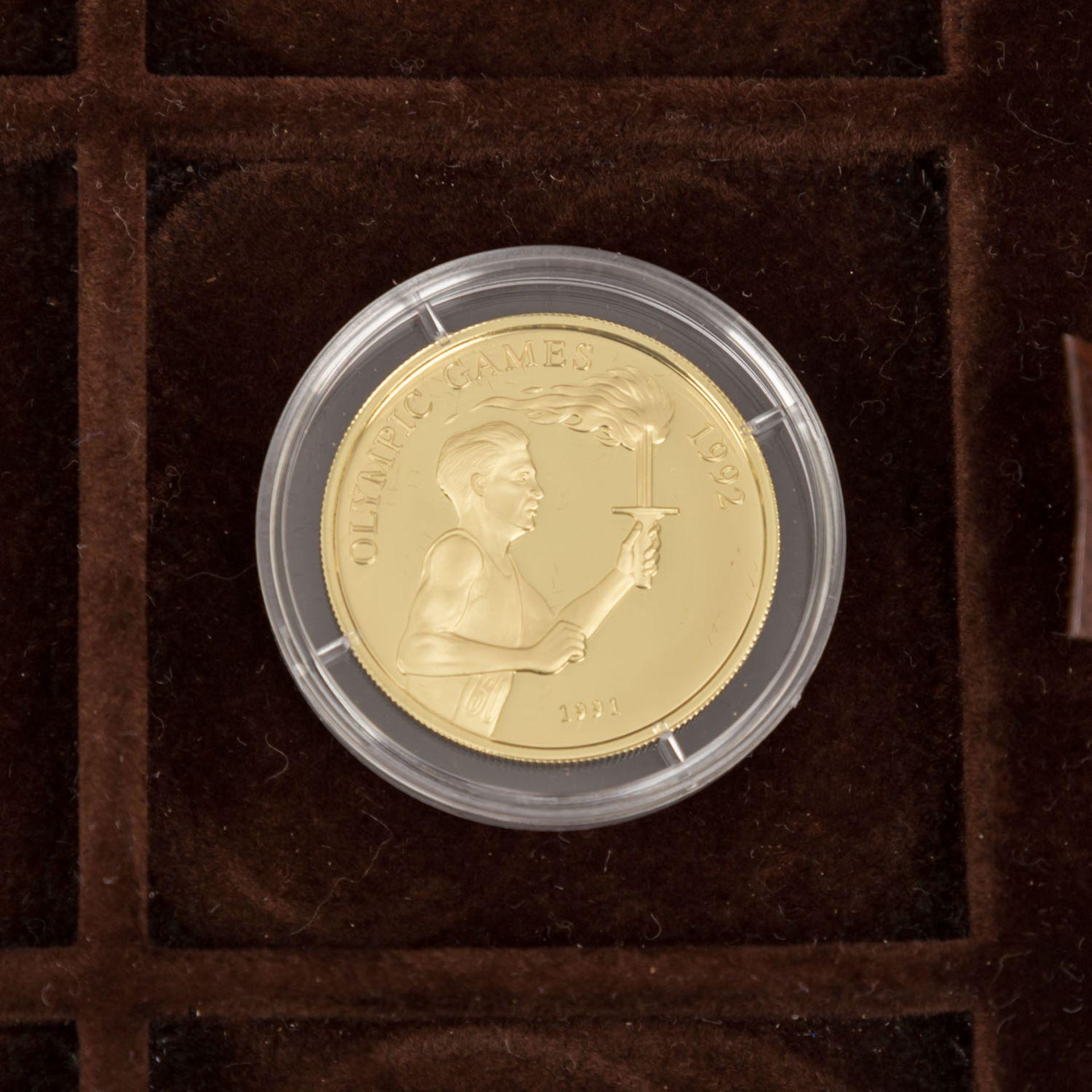 GOLDSCHATZ ca. 83 g fein, Holzkiste bestehend aus - Bild 6 aus 9