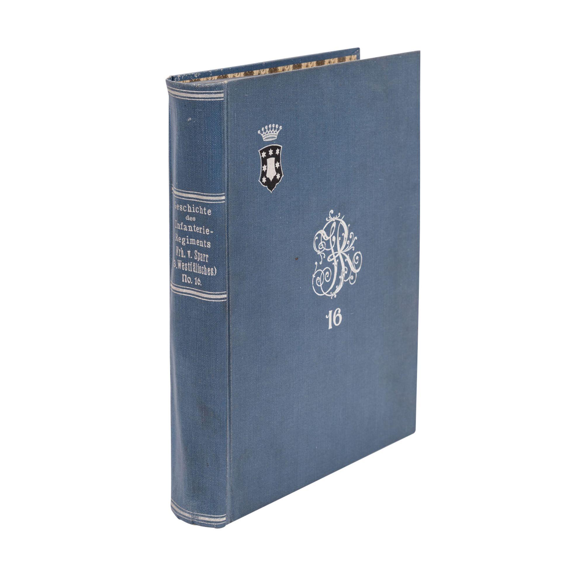 Geschichte des Infanterie-Regiments Freiherr von Sparr