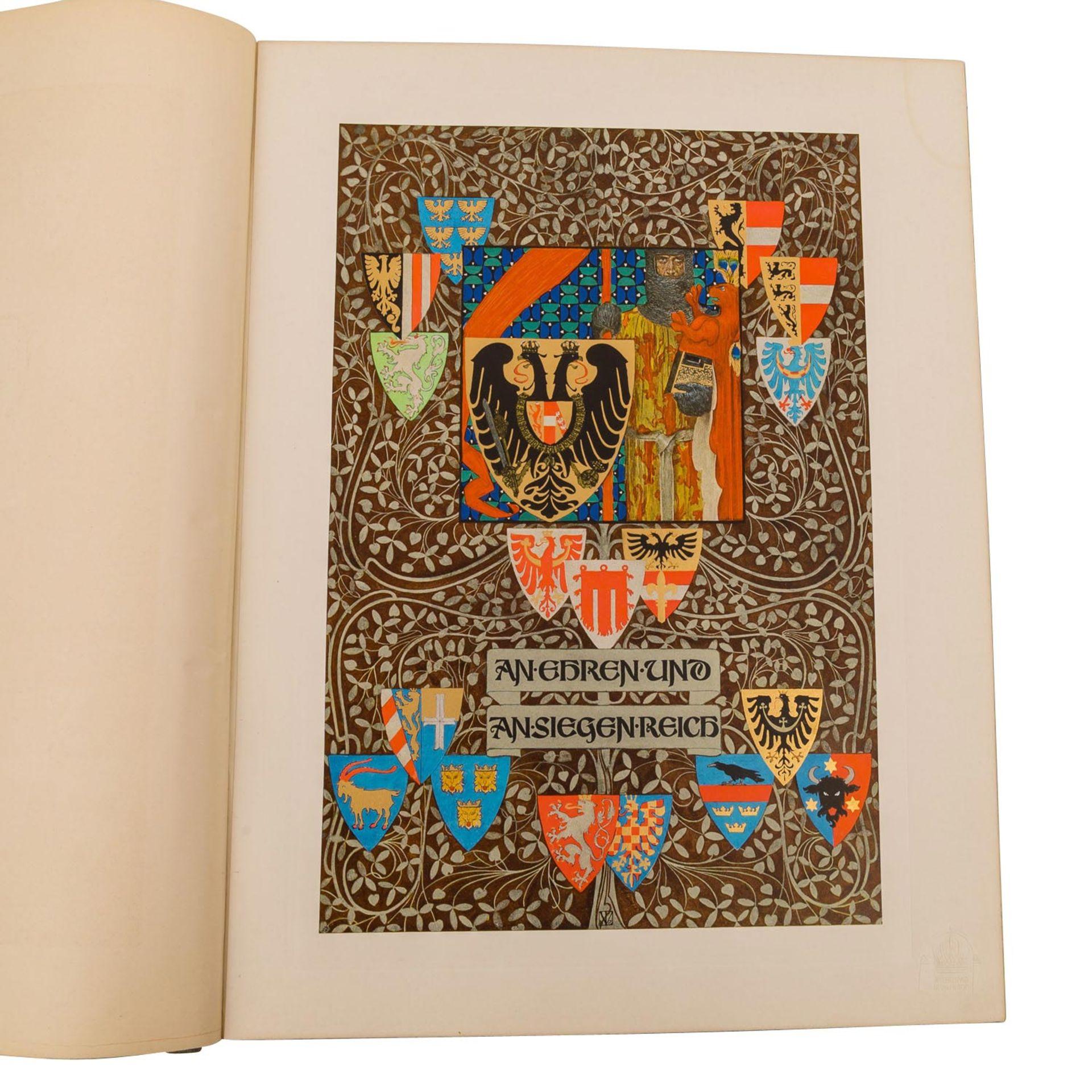 An Ehren und an Siegen reich, 2 Bände, - Bild 4 aus 6