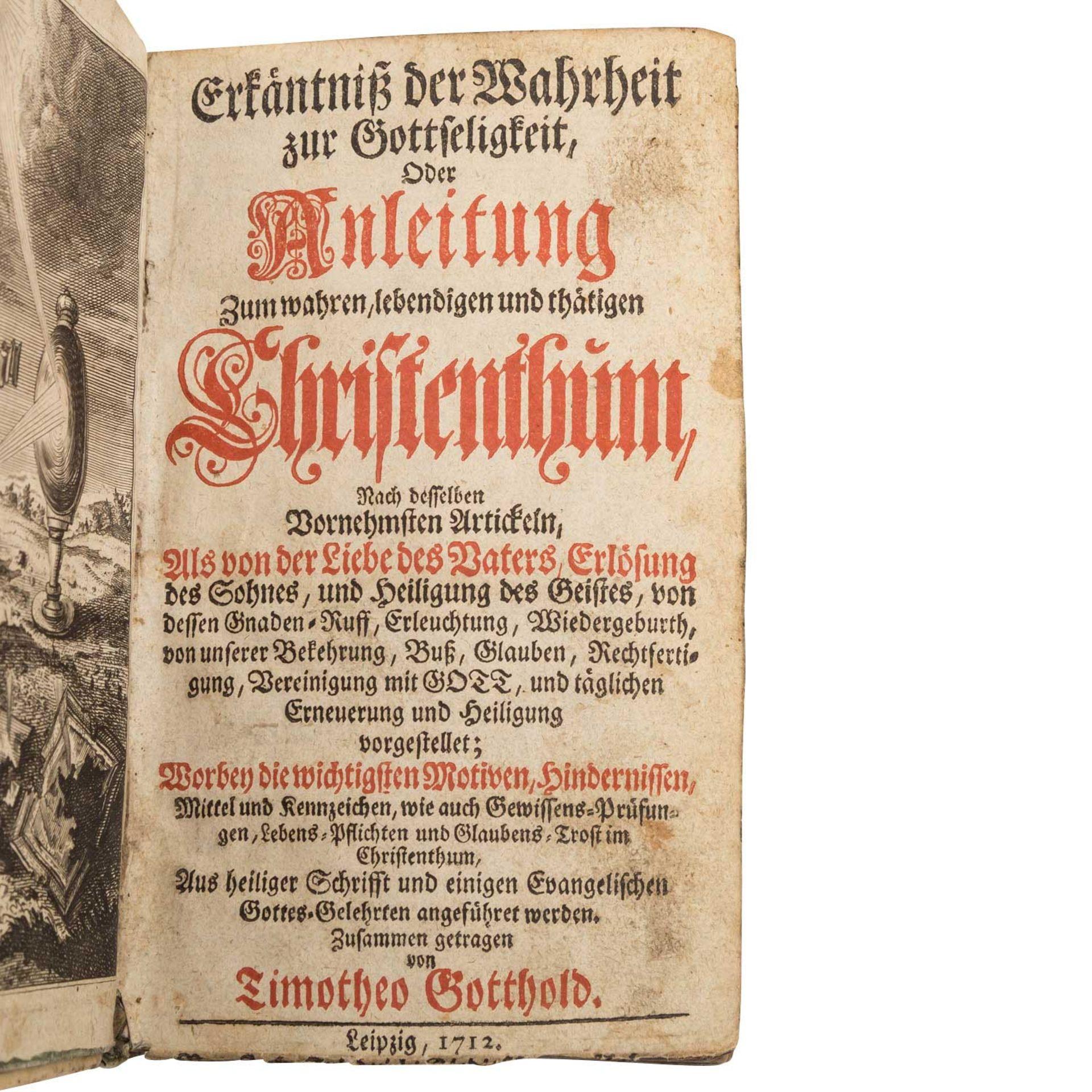 Religiöse Schrift, Leipzig 18.Jh. -