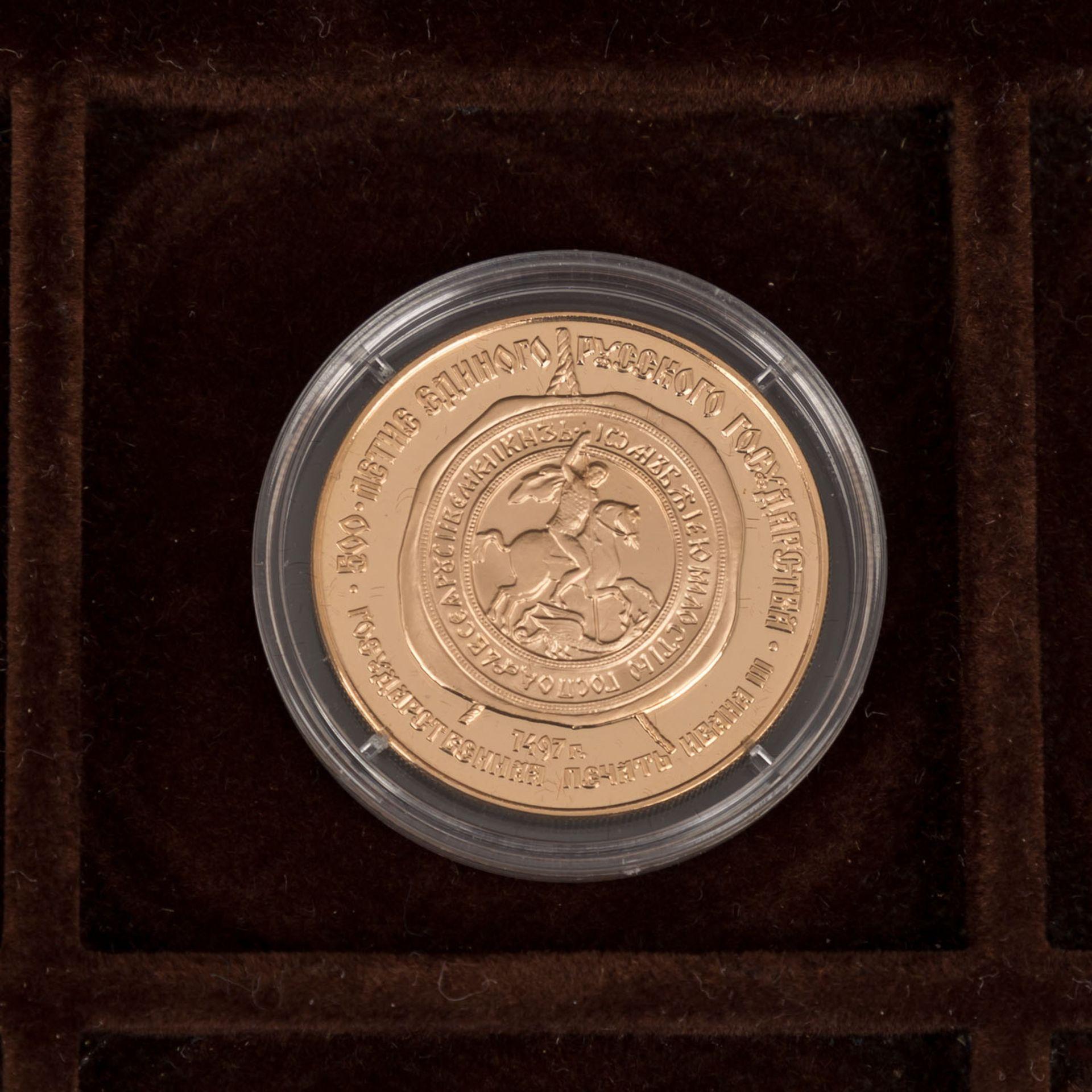 GOLDSCHATZ ca. 83 g fein, Holzkiste bestehend aus - Bild 4 aus 9