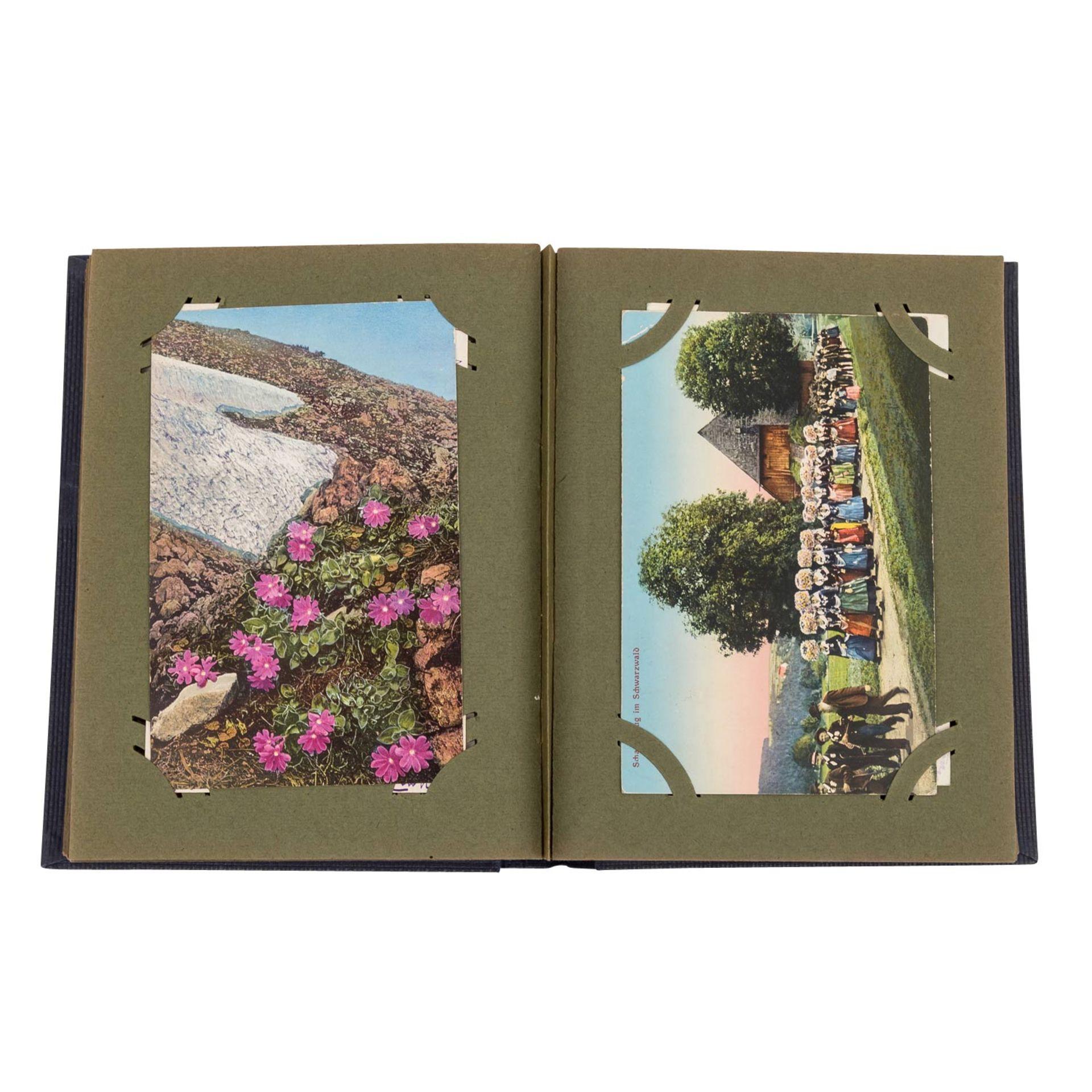 Hist. Postkartenalbum, Deutschland 19./20.Jh. - - Bild 3 aus 4