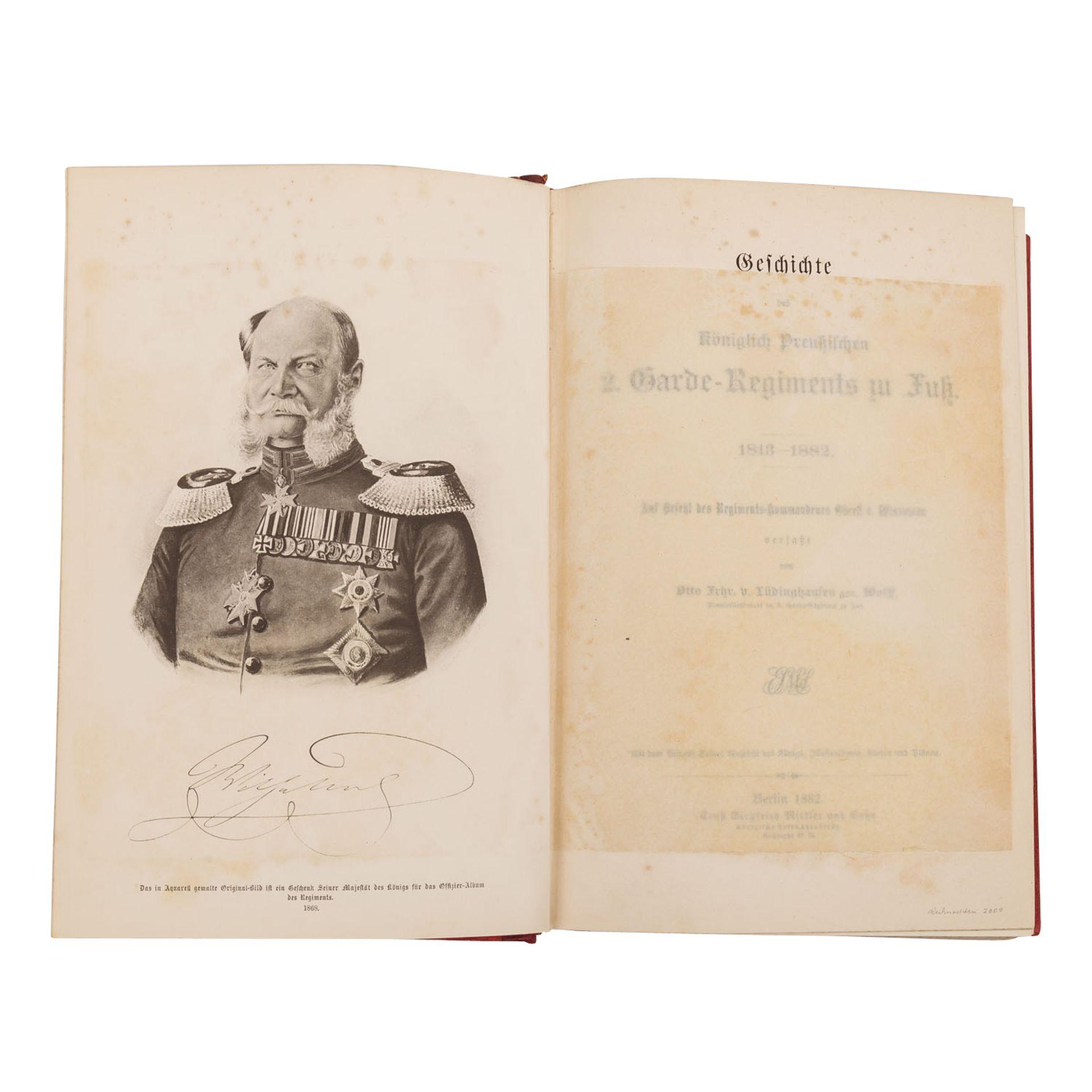 Geschichte des Königlich Preußischen 2. Garde-Regiments - Bild 3 aus 3