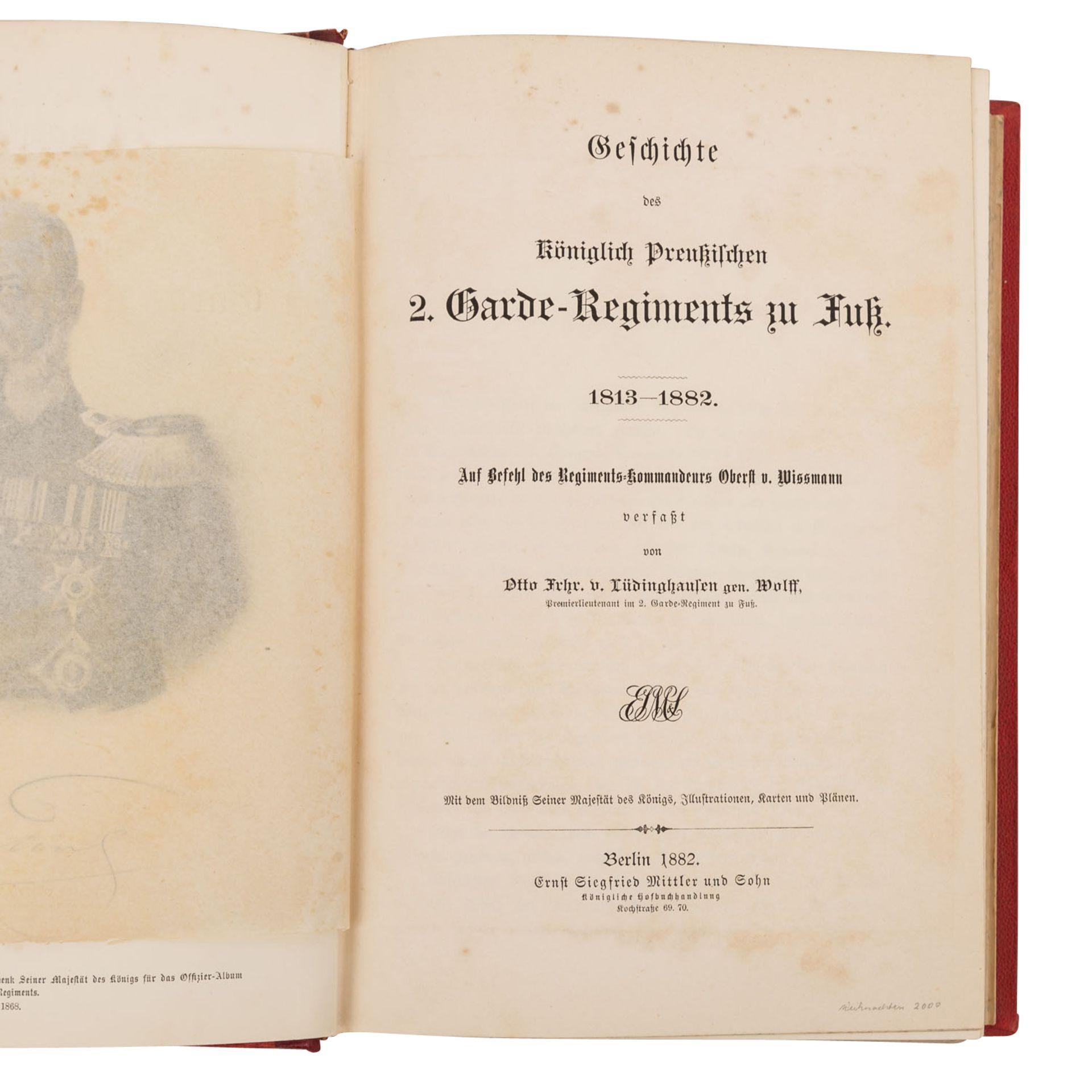 Geschichte des Königlich Preußischen 2. Garde-Regiments - Bild 2 aus 3