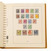 Berlin 1948-77 - schöne postfrische Sammlungim Lindner Ringbinder mit guten Anfangswe
