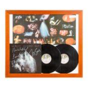 Autographen - Musiklegenden: GENESIS,handsigniertes Plattencover SCONDS OUT inklusive