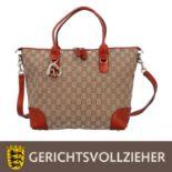 GUCCI Henkeltasche, NP.: ca. 1.200,-€.<b