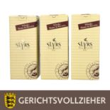 SLYRS 3 Flaschen Single Malt Bavarian Whisky, 2006