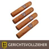 KONVOLUT 4x Habana Montechristo Zigarren.